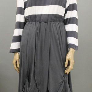 ESCALADYA Euro Asymmetrical Jersey Striped XL